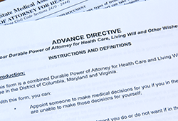 Living Wills and Advance Directives